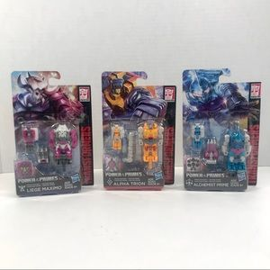 Transformers: Power of the Primes Lot Of 3